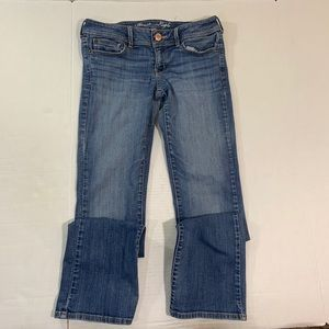 American Eagle Stretch Slim Boot Jeans 8